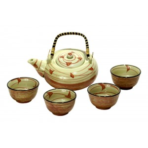 5PCS TEA SET-RED_AA14094-R